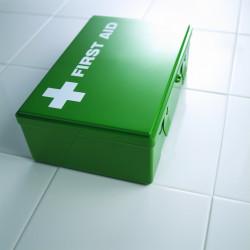 Erste-Hilfe-Kasten