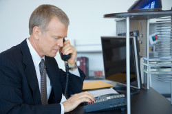 business telephone call